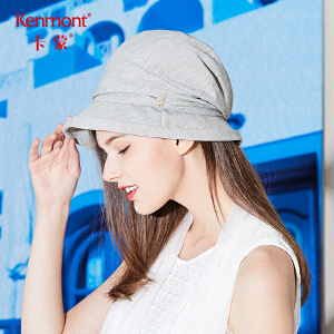 卡蒙百搭浅色蓓蕾帽贝雷帽女春天堆堆帽太阳帽女出游夏薄遮阳帽子3483