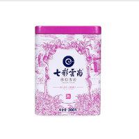 七彩云南庆沣祥茶叶名门普洱玫瑰花熟茶200g