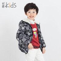 初语童装男童冬装外套2016羽绒服轻薄内胆加厚保暖儿童羽绒服