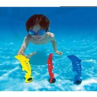 满百包邮INTEX趣味海豚 戏水玩具 水底游泳潜水 浮标 三个装