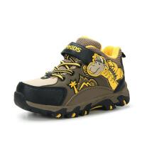 camkids小骆驼 男童冬鞋 儿童运动鞋小童鞋高帮登山鞋耐磨防滑备足户外983305新品