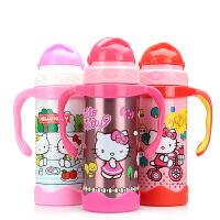 Hello Kitty欢乐儿童学饮杯(保温保冷)320ml