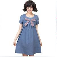 慈颜韩版时尚孕妇连衣裙孕妇装夏装孕妇裙 Y601