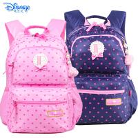 迪士尼公主小学生书包3-6年级儿童休闲书包双肩书包PL0180