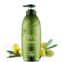 NsRoyL莱蔻橄榄�h油洗发露 去屑止痒柔顺滋润控油头皮清洁洗发水女正品300g装