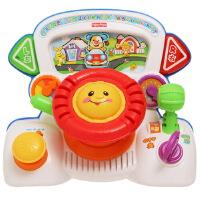 [当当自营]Fisher Price 费雪 趣味互动方向盘 双语 婴儿玩具 X6157
