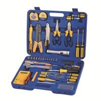 帕司特 48件套电工工具套装修电脑工具烙铁套装五金工具箱