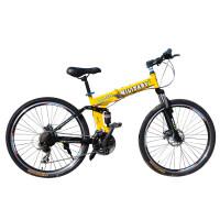 【618年中促】耐嘛悍马26寸折叠山地自行车 24速禧玛诺双碟刹