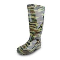 回力男士雨鞋高筒迷彩水鞋男款胶鞋塑胶防水防滑钓鱼套鞋单层