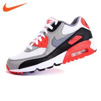 NIKE/耐克童鞋AIR MAX 90 MESH (GS)儿童休闲运动气垫鞋833418 102