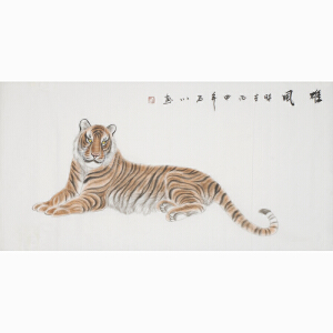 实力派画家 石川《雄风》