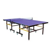 双鱼 乒乓球台 可折叠移动式乒乓球桌 201A 家用标准室内乒乓桌