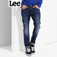 Lee【新款】男士牛仔裤 2017春夏新装牛仔裤男 709版型 修身小直脚 都市骑士系列 L11709Z022SV