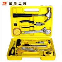 波斯工具 28件家用组套五金工具 羊角锤 活扳手 内六角 BS510928