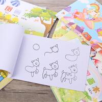 玛丽A4图画本16k儿童水彩笔画本油画棒绘画18k学生美术本涂鸦本