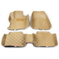 现代伊兰特 途胜 悦动 IX35索纳塔专车皮革大包围汽车脚垫地垫