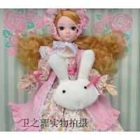 可儿娃娃6105中国芭比娃娃 甜美 晚安宝贝 白肌女孩礼物