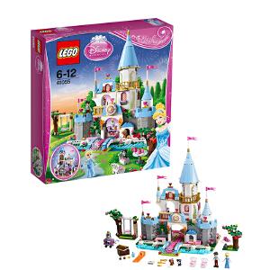[当当自营]LEGO 乐高 Disney迪士尼系列 灰姑娘的浪漫城堡 积木拼插儿童益智玩具 41055