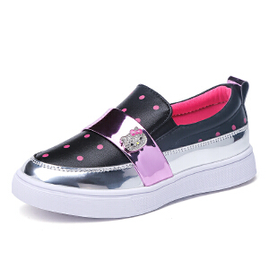 hellokitty童鞋女童公主鞋皮鞋儿童学生鞋单鞋休闲鞋