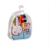 晨光文具 米菲12色手提袋装水彩笔学生儿童绘画笔可水洗FCP90149