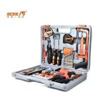 圣德保罗SD-012 家用维修五金工具套装工具箱 51件  圣德保罗工具 工具箱 家用通用工具箱