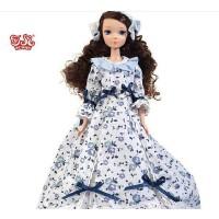 可儿娃娃9010 9012 中国芭比限量收藏版 蓝色晚安兔 粉色晚安熊