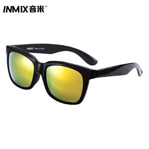音米新时尚复古黑框太阳镜 可配近视墨镜男 驾驶开车镜女潮 5062