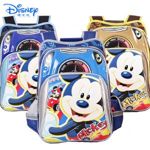 Disney/迪士尼 儿童背包米奇小学生男生款双肩卡通减负书包MB8214