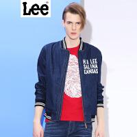 Lee 【新款】 男士夹克 2017春夏新款复古棒球衫牛仔夹克外套男 L269491UG898