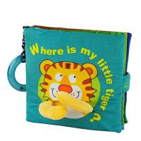 [当当自营]Lalababy 拉拉布书 逻辑推理系列 Where is my little tiger(我的小老虎在哪)