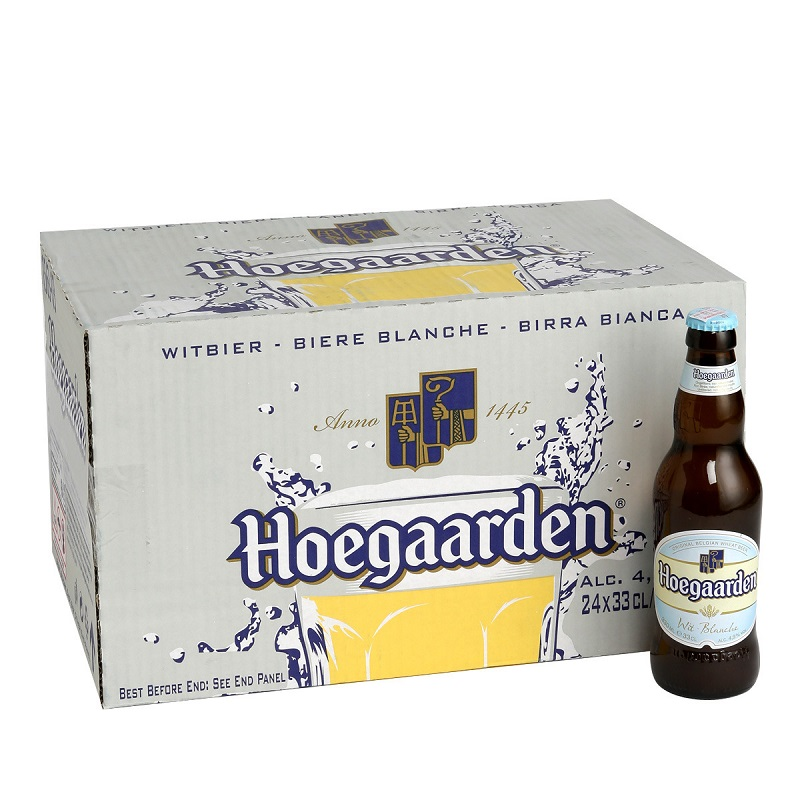 Hoegaarden 福佳白啤酒 330ml*24瓶(整箱)