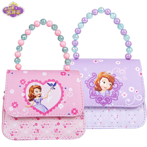 迪士尼苏菲亚公主儿童时尚斜挎包迷你小包包女童手提包DR1S013