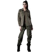 Free Knight/自由骑士 特种兵迷彩服套装 女式军迷用品0201+1007