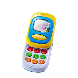 Auby澳贝 儿童 音乐手机 音乐电话 模拟打电话