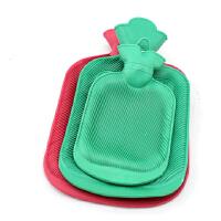 怀旧充水热水袋 冲水热水袋 加厚橡胶注水暖水袋 小号颜色随机