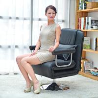 东木 可升降懒人沙发床 可调节布艺日式折叠沙发椅 单人沙发 休闲情侣榻榻米躺椅电脑椅户外