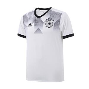 adidas阿迪达斯男装短袖T恤2017新款足球德国赛训练服运动服BP9161