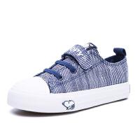 史努比童鞋男童帆布鞋春秋儿童运动鞋帆布鞋防滑板鞋潮