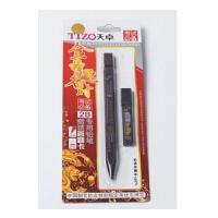 陆捌壹肆   天卓 考试*2B自动铅笔 TM013(1+1) 涂卡笔 2B铅笔+2B铅芯 1卡装