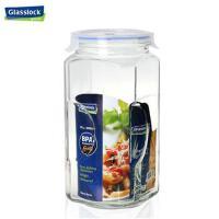 Glasslock玻璃瓶子奶粉茶叶储物罐3000ML透明玻璃密封罐厨房用IP593