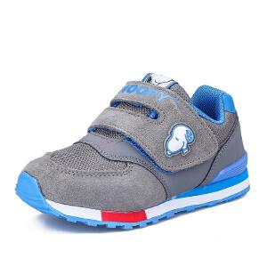 史努比童鞋男童复古休闲鞋新款男童运动鞋网布鞋防滑跑步鞋