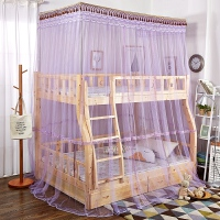 晚歌上下铺蚊帐子母床儿童高低床学生双层床一体蚊帐可订做