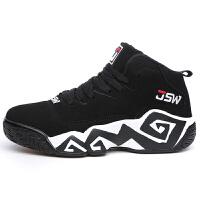金帅威 情侣耐磨篮球鞋防滑跑步鞋运动鞋