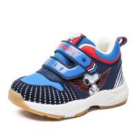 史努比童鞋冬学步鞋二棉宝宝鞋加厚男童机能鞋加绒保暖运动鞋