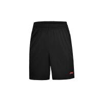 李宁男子2017新款足球系列针织宽松比赛裤运动短裤AAPM031