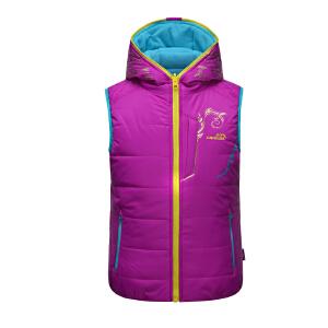 camkids小骆驼 女童马甲 儿童双面穿外套 亲子户外保暖冬装955600