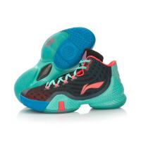 李宁男子专业比赛战靴篮球鞋空袭III减震CBA联赛运动鞋ABAL043