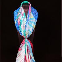 女士春秋冬季丝大方巾1桑蚕丝披肩蚕丝披肩围巾两用围巾两用纱巾