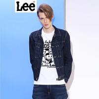 Lee 【新款】男士夹克 2017春夏新品鸡年复古牛仔夹克男士 L248272JK898