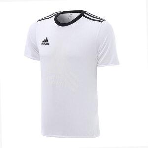 adidas阿迪达斯男装短袖T恤2017新款足球运动服BK3765